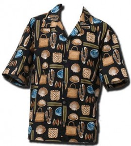 mens kete shirt nz made kiwiana fabric
