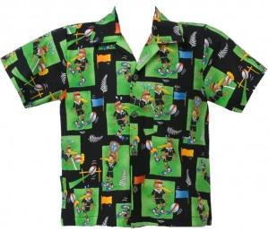 Childs Rugby Kiwi shirt