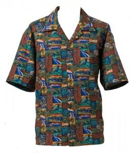 "Mens Shirt Style ""Aotearoa"""