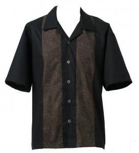 Mens Shirt Moko Fine Panel