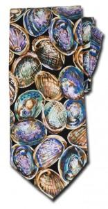 "Straight tie ""Paua Shell"""