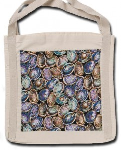 Tote bag Paua shell