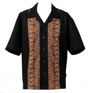 """Nuzilund Mens Shirt """"Whakairo"""""""